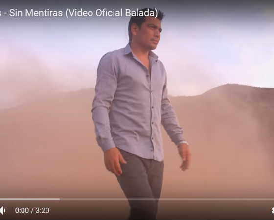ERICK BERRÍOS ESTRENA «SIN MENTIRAS» VERSIÓN BALADA